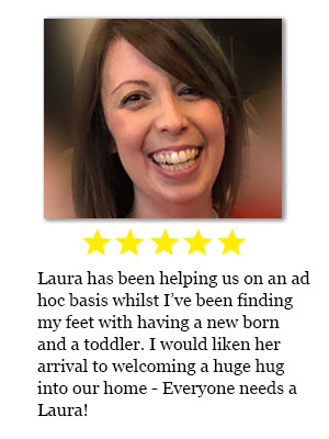 Home helper review for Laura