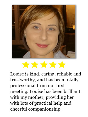 Home helper review for Louise