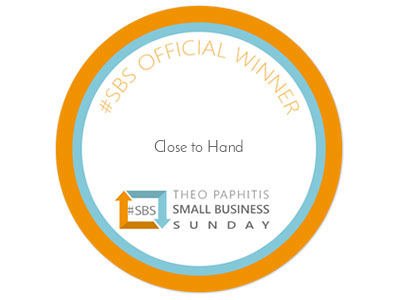 We are Small Business Sunday winners link